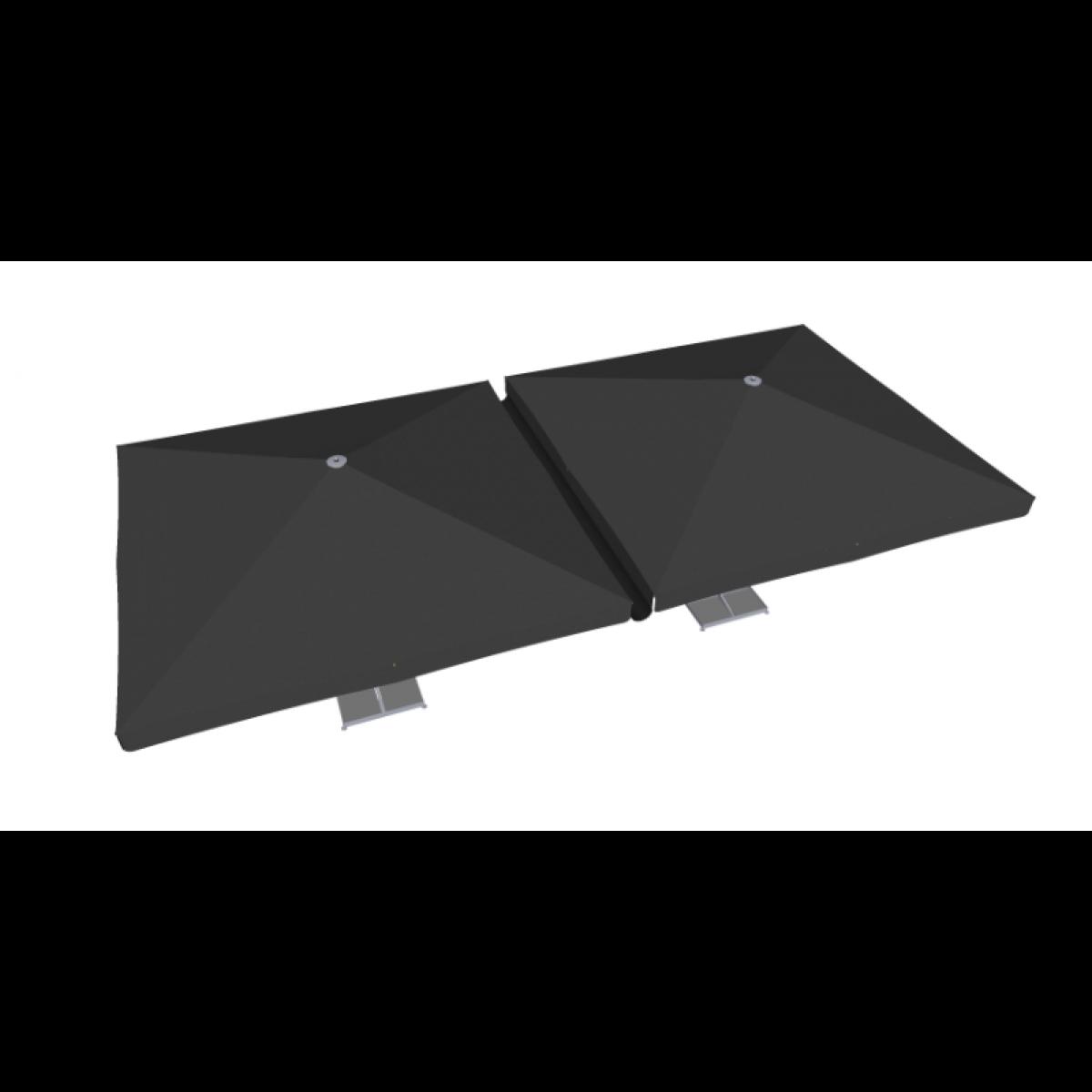 goutti re pvc 400cm noir maestro prestige accessoires. Black Bedroom Furniture Sets. Home Design Ideas