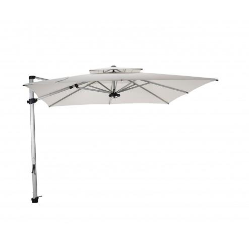 Laterna parasol déporté 300*300cm. naturel