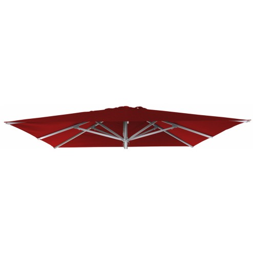 Toile Patio Rouge (300*300cm)