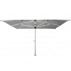 Basto Pro parasol géant (500*500cm) Gris Platine