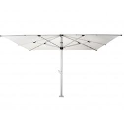 Basto Pro parasol géant (400*400cm) Perle Blanche