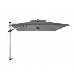 Fratello Pro 2.0 parasol déporté Gris Platine (300*300cm)