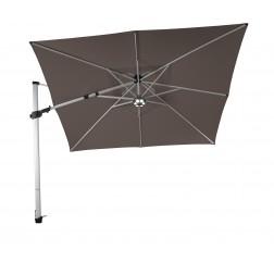 Fratello Pro 2.0 parasol déporté Taupe (300*300cm)