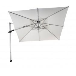 Fratello Pro parasol déporté Perle Blanche (300*300cm)