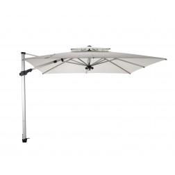 Fratello Pro 2.0 parasol déporté Perle Blanche (300*300cm)