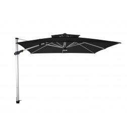 Fratello Pro parasol déporté Noir (300*300cm)