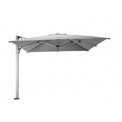 Fuerto Pro parasol déporté Gris Platine (300*300cm)