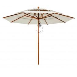 Patio parasol 300*300cm. zwart