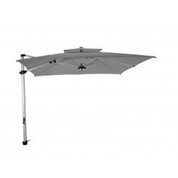 Laterna Pro parasol déporté Gris Platine (300*300cm)
