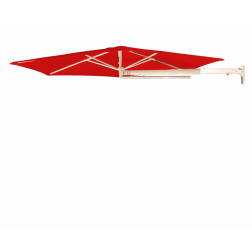 P4 parasol mural Traffic Red (ø270cm)