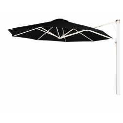 Prostor P7 parasol mural diam. 350cm. black widow