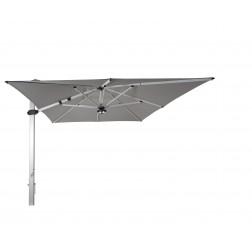 Palestro Pro parasol déporté Gris Platine (300*400cm)