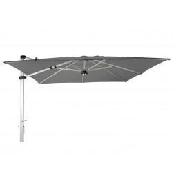 Palestro Pro parasol déporté Gris Platine (400*400cm)