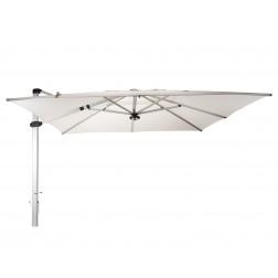 Palestro Pro parasol déporté Perle Blanche (400*400cm)