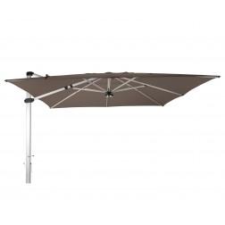 Palestro Pro parasol déporté Taupe (400*400cm)
