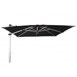 Palestro Pro parasol déporté Noir (400*400cm)