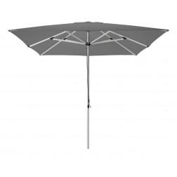 Patio Pro parasol Gris Platine (300*300cm)