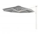 Prostor P7 parasol mural diam. 350cm. lead grey