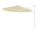 Prostor P7 parasol mural diam. 350cm. white sand
